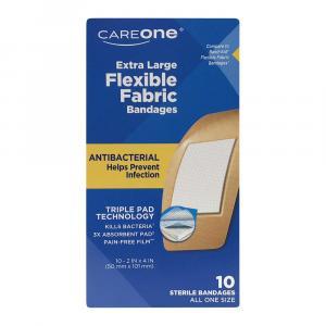 CareOne Extra Large Flexible Fabric Bandages