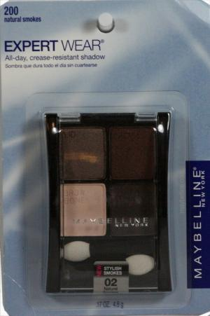 Maybelline Eye Shadow Expert Wear Natural Smoke Quad
