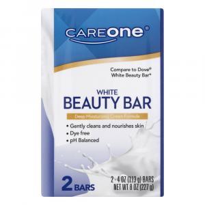 CareOne White Beauty Bar Soap