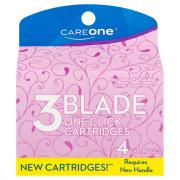 CareOne 3 Blade Cartridge Blade Refill