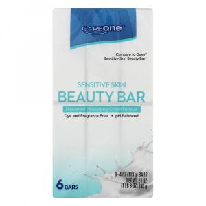 CareOne Sensitive Skin Beauty Bar Soap