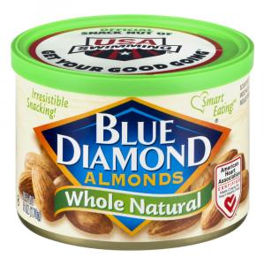 Blue Diamond Growers Whole Natural Almonds