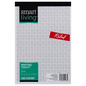 Smart Living Writing Tablet Ruled