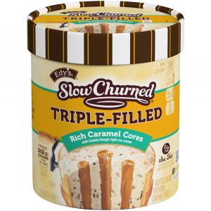 Edy's Slow Churned Triple Filled Salted Caramel Cores