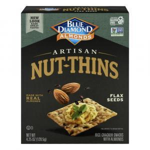 Blue Diamond Flax Seed Artisan Nut Thins