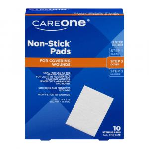 """Careone 2"""" X 3"""" Nonstick Pads"""