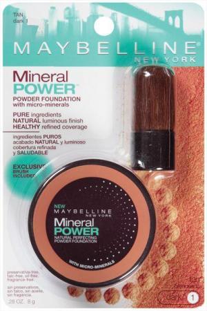 Maybelline Mineral Power Powder Foundation - Tan