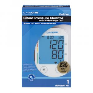 CareOne Deluxe Blood Pressure Monitor with Wide-Range Cuff