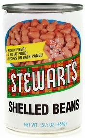 Stewart's Shelled Beans