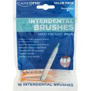 CareOne Straight Interdental Brushes