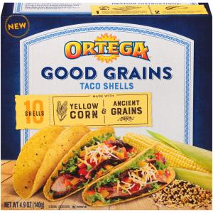 Ortega Good Grains Yellow Corn Taco Shell
