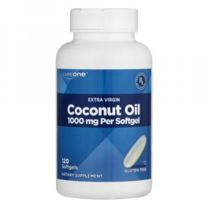 CareOne Extra Virgin Coconut Oil 1000mg Softgels