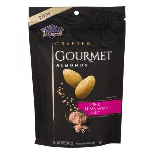 Blue Diamond Crafted Gourmet Pink Himalayan Sea Salt Almonds