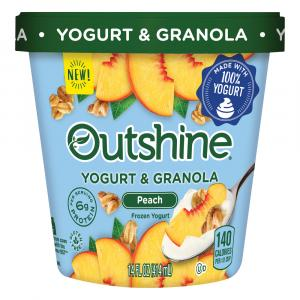 Outshine Peach Yogurt & Granola Frozen Yogurt