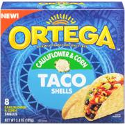 Ortega Cauliflower & Corn Taco Shells