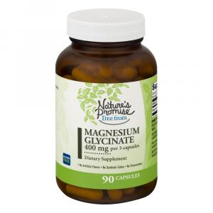 Nature's Promise Magnesium Glycinate 400mg Veg Caps