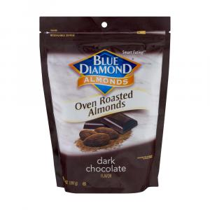 Blue Diamond Dark Chocolate Almonds