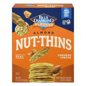Blue Diamond Growers Cheese Nut Thins