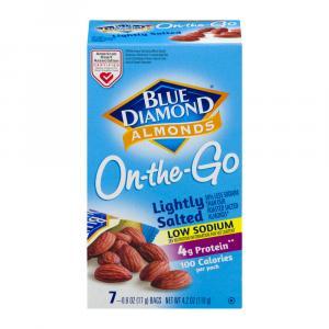 Blue Diamond On The Go Lightly Salted Almonds