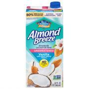 Blue Diamond Almond Breeze Unsweetened Vanilla AlmondCoconut