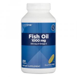 CareOne Fish Oil 1000 mg Softgels