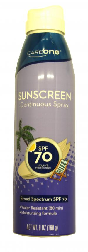 Careone Spf 70 Continuous Spray Sunscreen