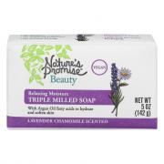 Nature's Promise Triple Milled Soap Lavendar Chamomile