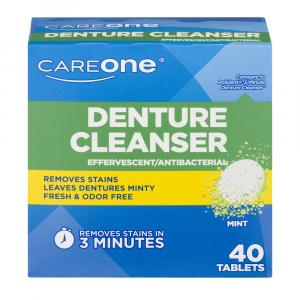CareOne Mint Denture Tablets