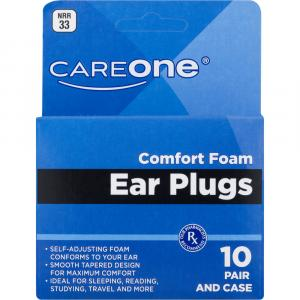 Careone Comfort Foam Ear Plugs