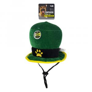 Companion St Paddy's Day Top Hat Dog Toy