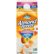 Almond Breeze Unsweetened Vanilla Almond Cashew Milk Blend