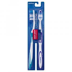 CareOne Gem Grip Medium Toothbrush