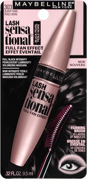 Maybelline Lash Sensational Black Pearl Volumizing Mascara