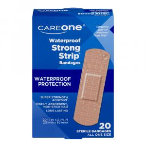CareOne Waterproof Strong Strip Bandages