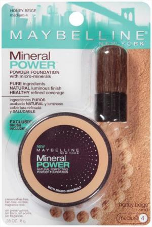 Maybelline Mineral Power Powder Foundation - Honey Beige