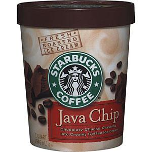 Starbucks Java Chip Ice Cream
