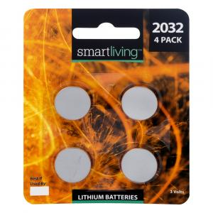 Smart Living CR2032 Lithium Batteries