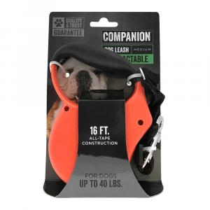 Companion Retractable Medium Dog Leash
