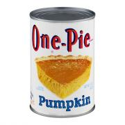 One-Pie Pumpkin