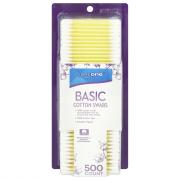 CareOne Basic Cotton Swabs Plastic Sticks
