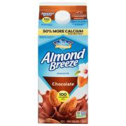 Blue Diamond Almond Breeze Almondmilk Chocolate Milk