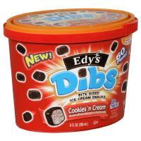 Edy's Cookies 'n Cream Dibs