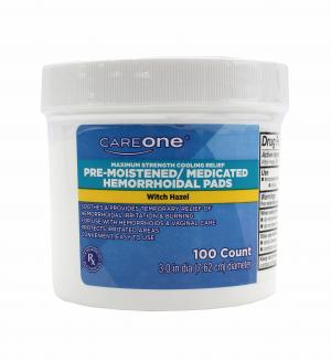 CareOne Pre-Moistened Medicated Pads