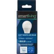 Smart Living LED 10w (60w Equivalent) Soft White Bulb