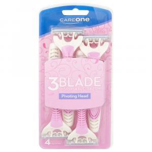 CareOne Women's 3-Blade Disposable Razor