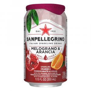 San Pellegrino Sparkling Fruit Beverage Pomegranate Water