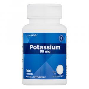CareOne Potassium 99 Mg Tablets