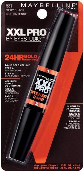 Maybelline XXL Pro 24 HR Bold Mascara - Very Black