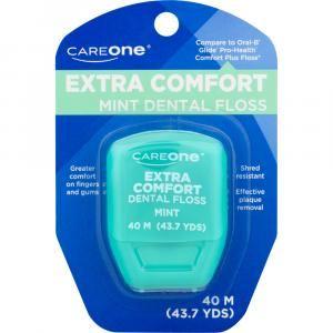 CareOne Extra Comfort Dental Floss - Mint