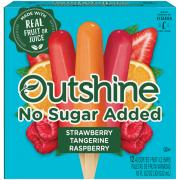 Outshine No Sugar Added Variety Fruit Bars
